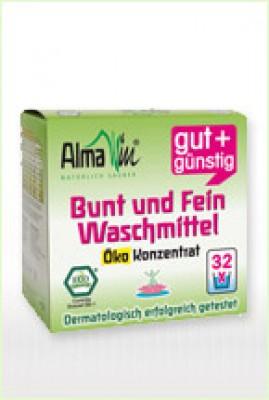 AlmaWin Bunt- und Feinwaschmittel, Öko-Konzentrat, 2 kg