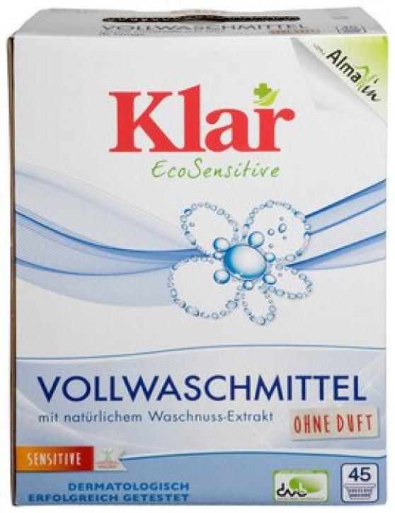 Klar Vollwaschmittel Pulver 2,475kg