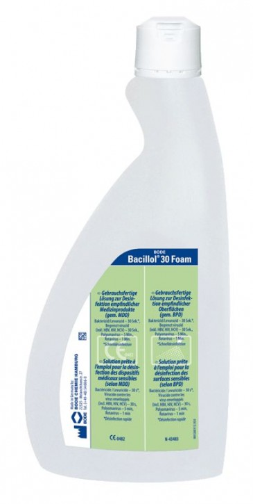 Bacillol 30 Foam, 750 ml