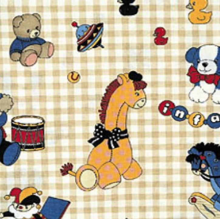 Dinkel-Kissen, Größe S, Farbe Spielsachen beige